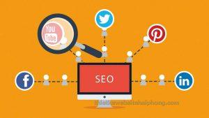 mạng xã hội seo website